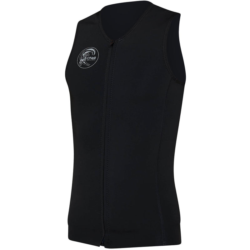 O'Neill - O'Riginal Zip Thru 2mm Vest (Black/Black/Black)