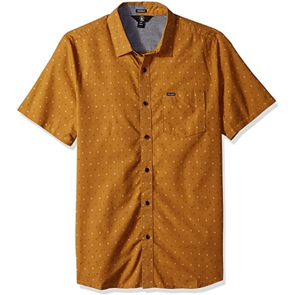Volcom - Frequency Dot Tee (Old Gold)