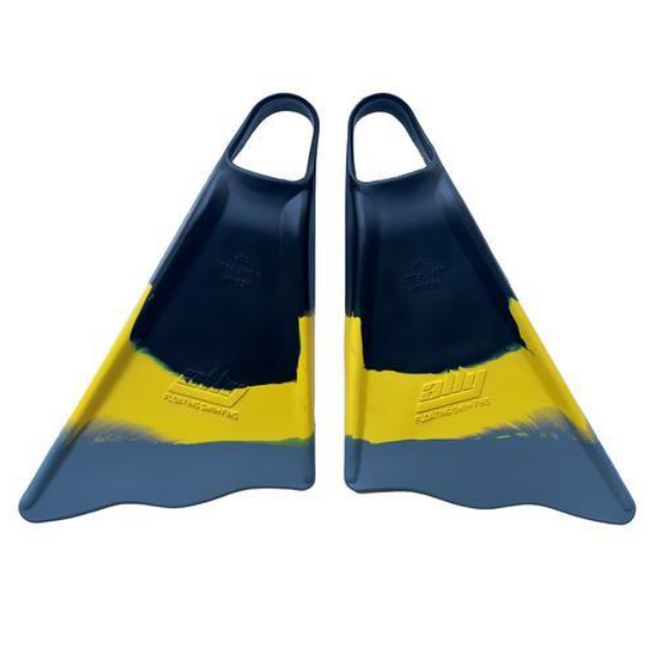 Ally - Bodyboard Fins - (Black/Yellow/Grey)