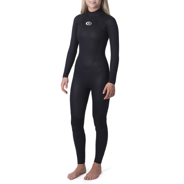 Rip Curl - Womens Omega 3/2 Back Zip Steamer
