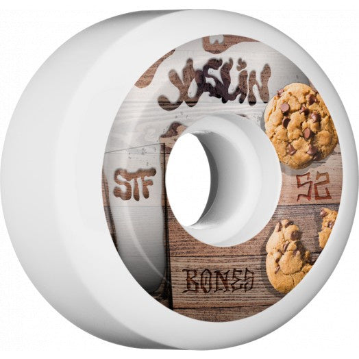 Bones - Joslin Cookies STF Sidecuts 52mm 103a Wheels (White)