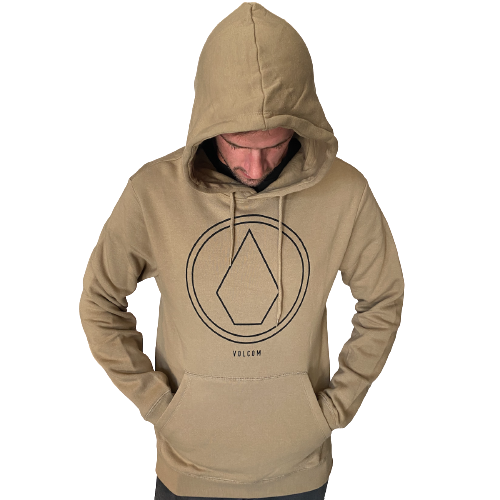 Volcom - Round One Pullover Hoody (Sand Brown)