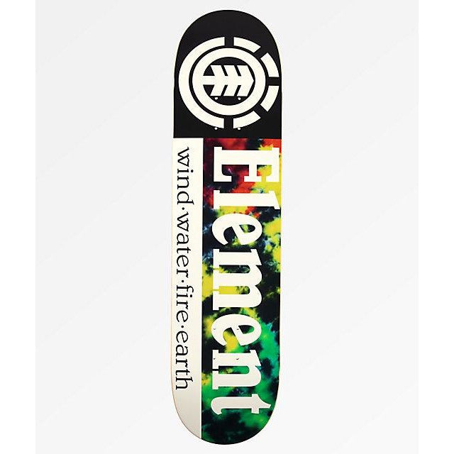Element - Rasta Section Deck 7.75""