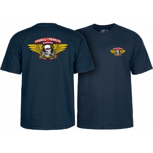 Powell Peralta - Winged Ripper Tee (Navy)