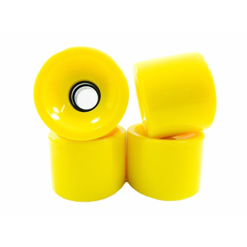 Tacoma - 70mm 78a Longboard Wheels (Yellow)