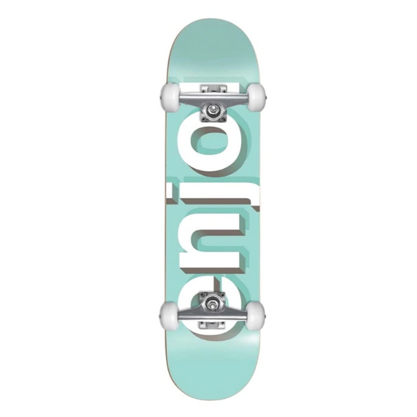 "Enjoi - Teal 8.0"" complete"