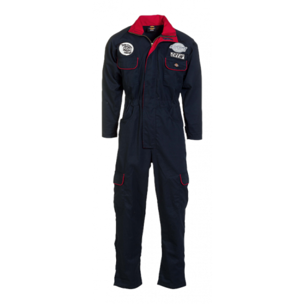 Dickies - Owingsville Flightsuit (Navy/Red)