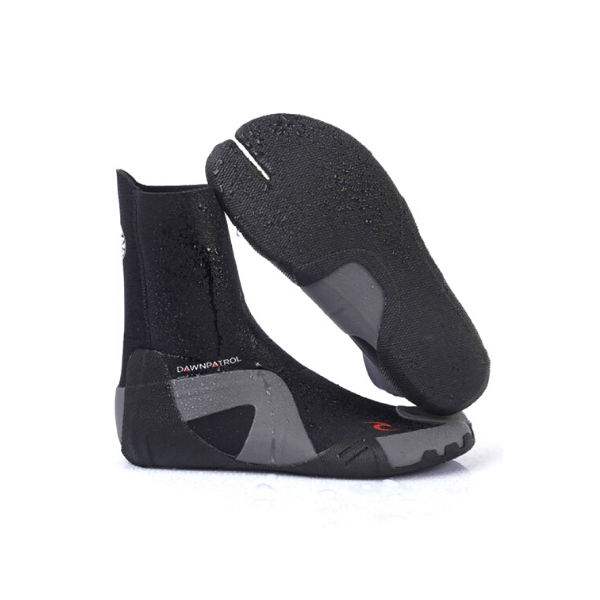 Rip Curl - Dawn Patrol 3mm Split Toe Bootie (Black)
