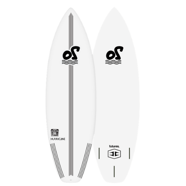 5'2'' Rockstar Performance Soft Top Surfboard - 25L