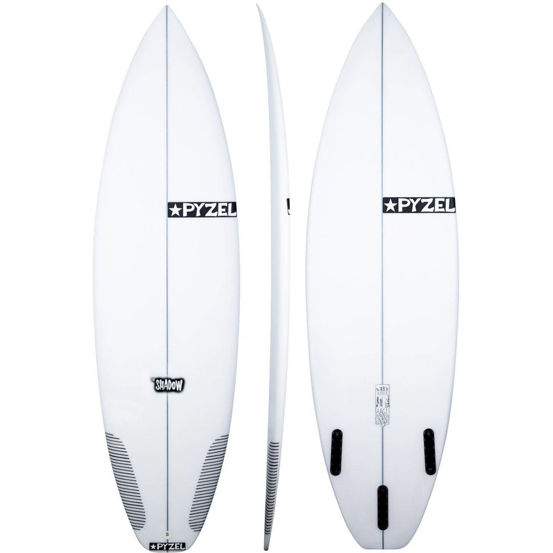 "Pyzel - Shadow (6'0"" - 19 1/8 - 2 1/2 - 29.5L) 3Fin"