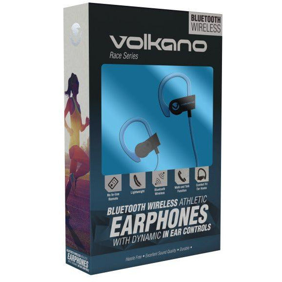 Volkano - Race Series Bluetooth Sports Earhook Earphones