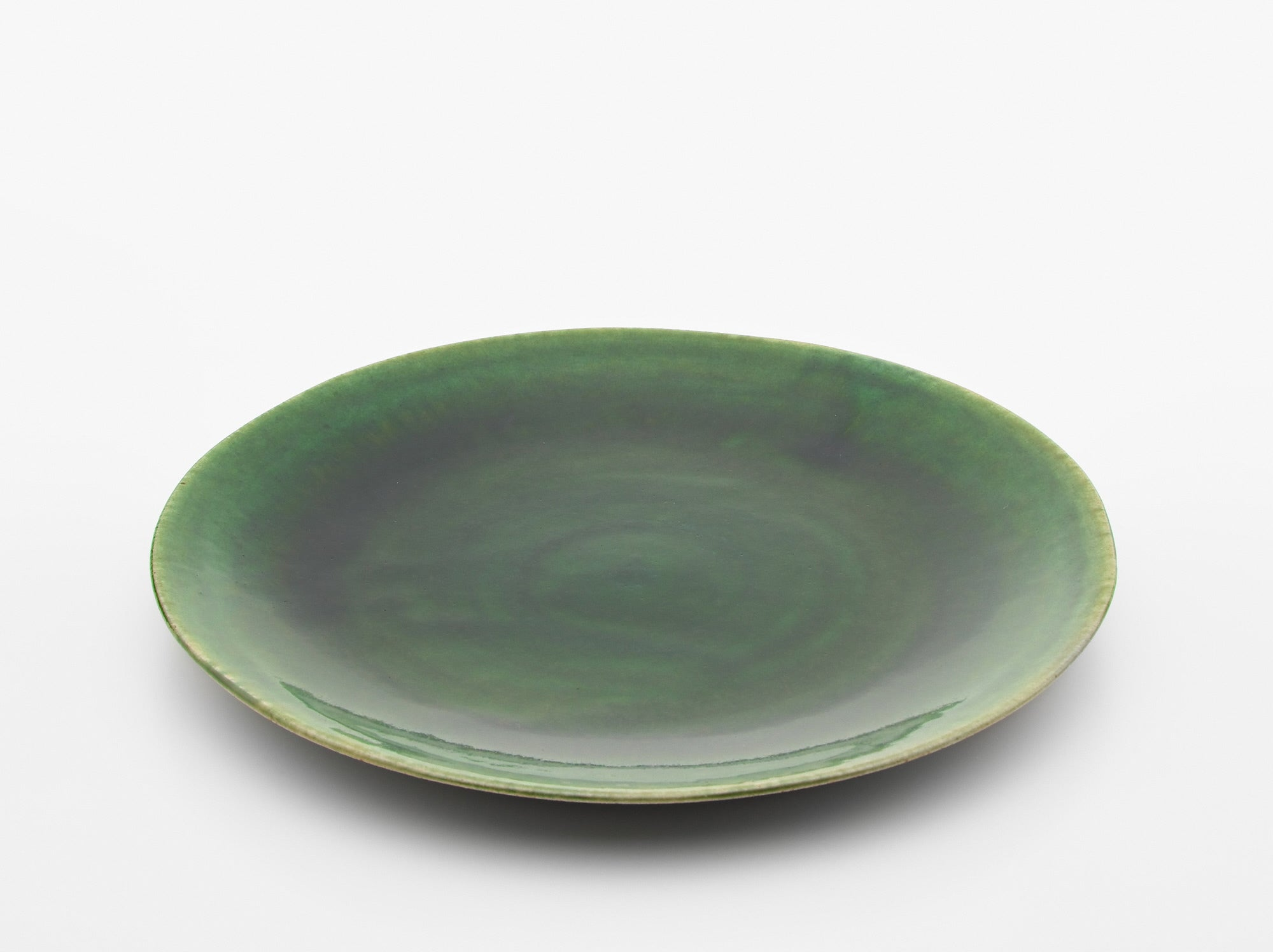 Oribe Large Plate by Fudogama