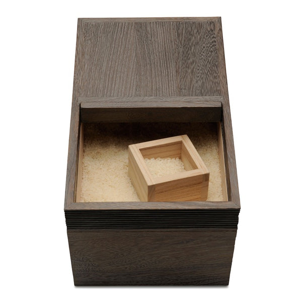 Paulownia  Kiri Wood Rice Container Box