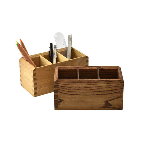 Multi Use Stationery Wood Box