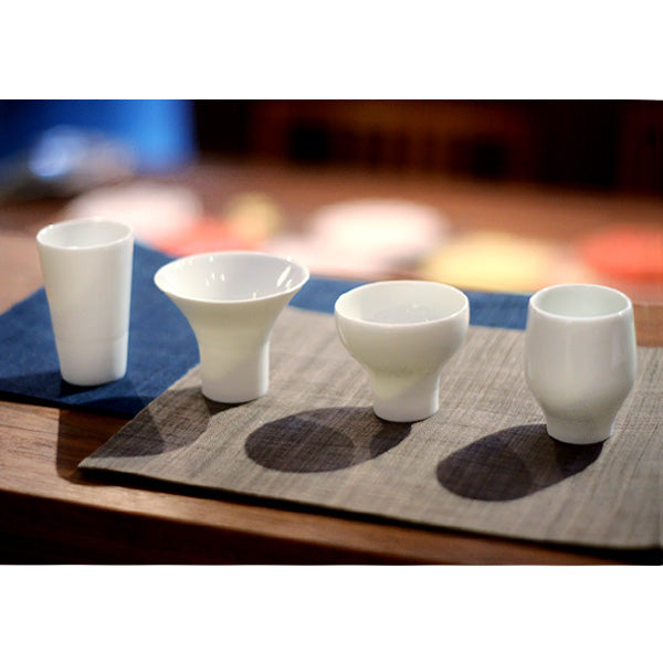 Ikkon-hai Set of 4 Sake Tasting Cups