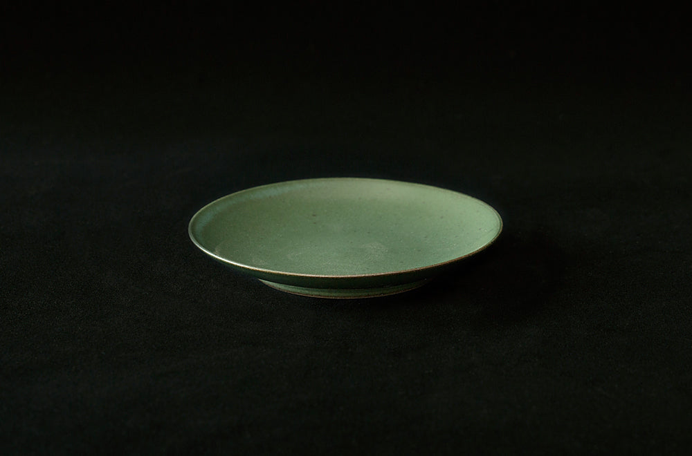 Pottery Glazed Plates by Simplicity