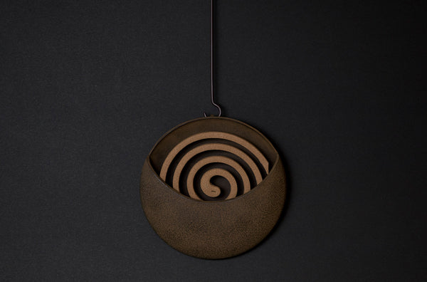 Cast Iron Incense Coil Holder by Simplicity