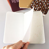 Mino Washi Tile Print Oboeru Small Pocket Notebook