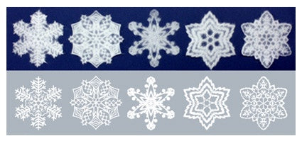 SNOWFLAKES Washi Decals  St. Petersburg SS size