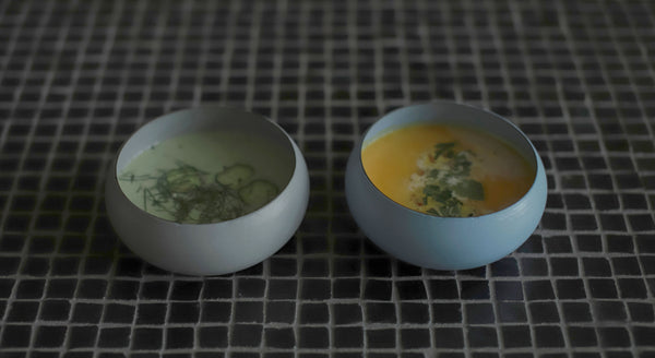 ovject Enamel Low Bowls