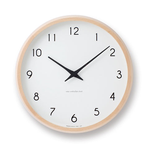 Campagne Clock by Lemnos