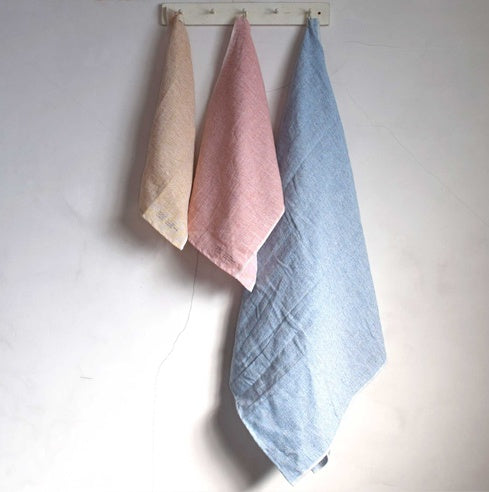 Moku Linen Towel by Kontex