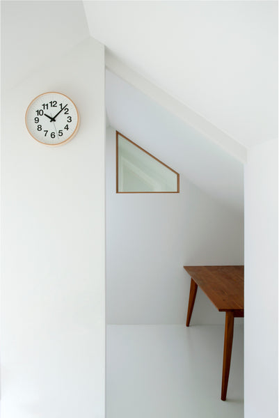 Numbers Plywood Clock by Lemnos