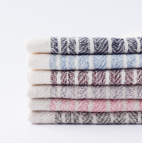Flaxline Organic Cotton Bath Towels by Kontex