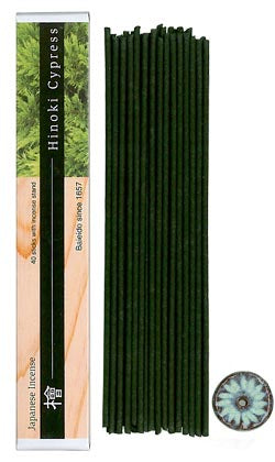 Baieido Incense Sticks Hinoki Cypress