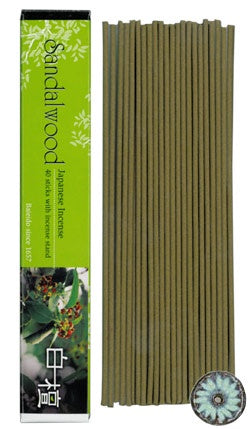Baieido Incense Sticks Sandalwood