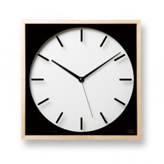 Cubicon Clock  by  Lemnos
