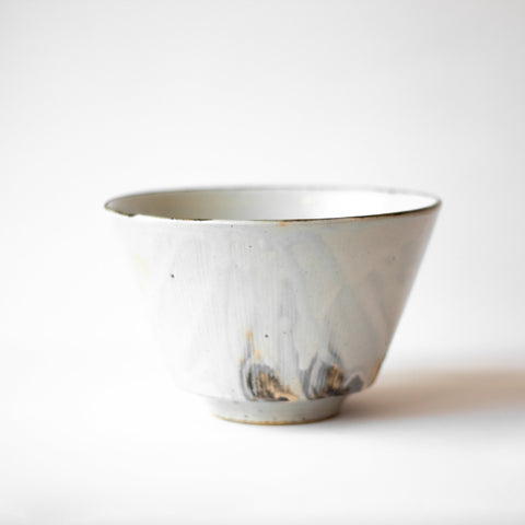 Kushime Kohiki Tall Bowl by Hechimon