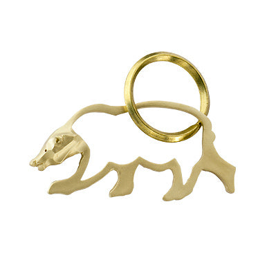 Eza Animal Series of Brass Key Rings