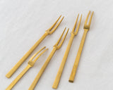Hime Brass Fork - Set of 5