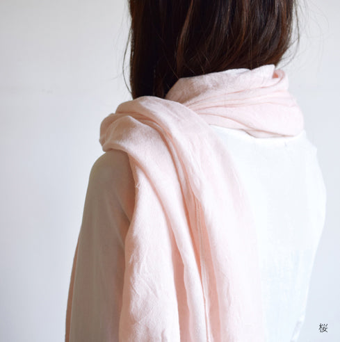 Haolu Cotton and Wool Shawl by Kontex
