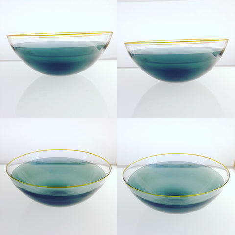 Quilt Glass Bowl by Fresco
