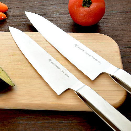 Round Bar Gyuto Chef's Knife by Shizu Hamono