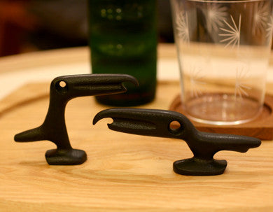 Tadahiro Baba Crow Bottle Opener