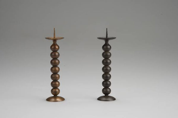 Brass Candle Holder GUSOKU 1  by Nousaku