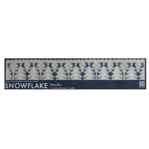 SNOWFLAKES  Nordic Trees Washi Paper Decals