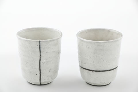 Kohiki Tea Cups Set by Fudogama