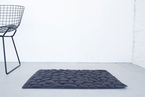Ishikoro Pebble Stones Bath Mat by Ottaipnu