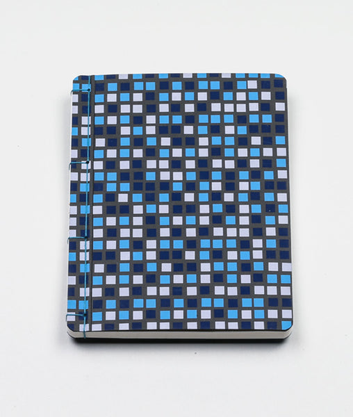 Japanese Mino Washi Tile Print Oboeru Notebook
