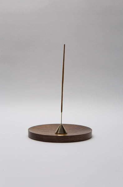 Brass Cone  Incense Stand by OBJT