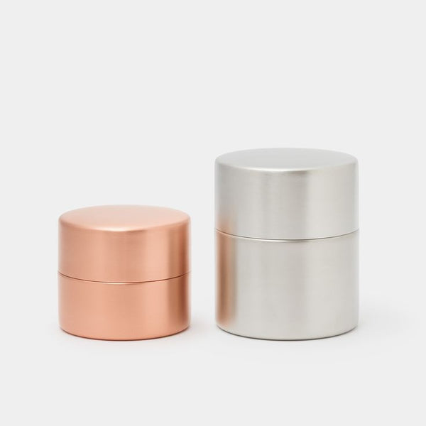 Copper / Tin  Canister by Azmaya