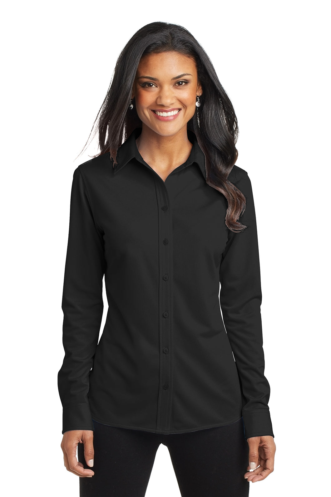 Quantum Long-Sleeve Women's Dress Shirt