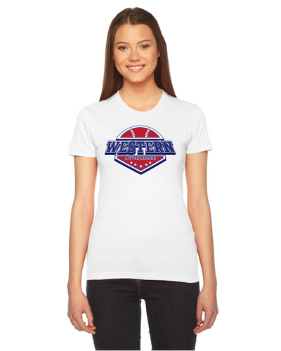 Ladies Fine Jersey Short-Sleeve T-Shirt