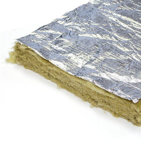 Rockwool Foil Faced Ductwrap The Insulation Shop