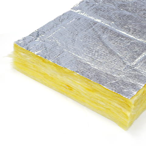 Glassfibre Foil Faced Ductwrap The Insulation Shop