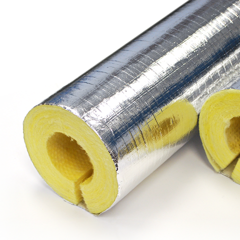 Isover fibreglass pipe insulation 1200mm lengths the for High density fiberglass insulation